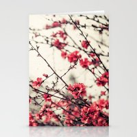 Printemps Rose Stationery Cards