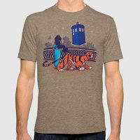 I Can Show You The Unive… Mens Fitted Tee Tri-Coffee SMALL