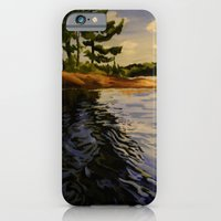 iPhone & iPod Case featuring The River  by Leanna Rosengren