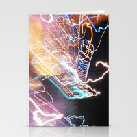 Techno-Finger Painting Stationery Cards
