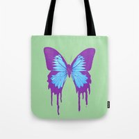 Ulysses Swallowtail Tote Bag