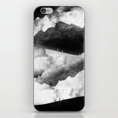 State of black and white isolation iPhone & iPod Skin