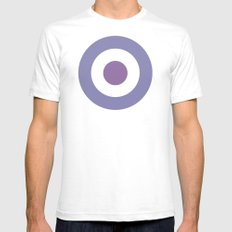 Hawkeye Mens Fitted Tee White SMALL