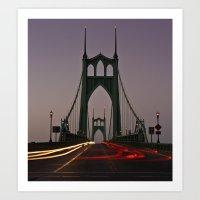 St. Johns Bridge III Art Print