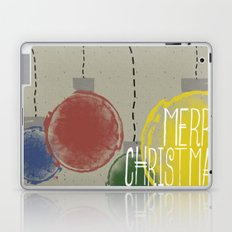 Merry Christmas Ornaments Laptop & iPad Skin