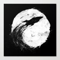 Midnight Delivery Canvas Print