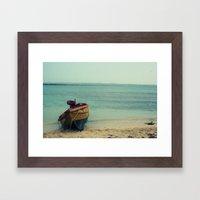 The Island Off The Island Framed Art Print