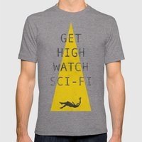 Watch Sci-fi Mens Fitted Tee Tri-Grey SMALL
