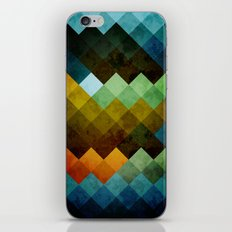 Abstract Cubes BYG iPhone & iPod Skin