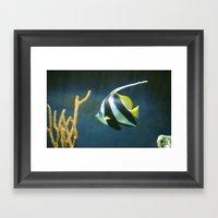 Banner  Fish Framed Art Print