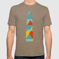 Lipstick Hues On Black Mens Fitted Tee Tri-Coffee SMALL