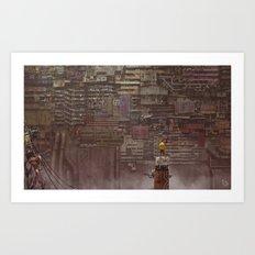 BABIRU Art Print