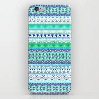 EMERALD CHENOA PATTERN iPhone & iPod Skin