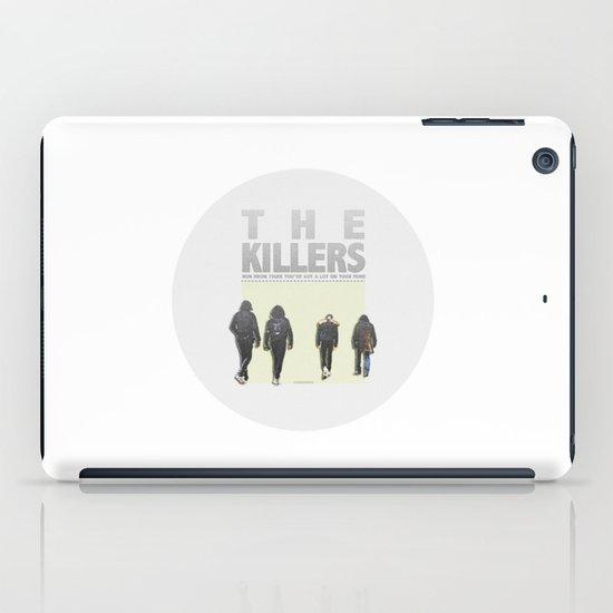 Neon Tiger Print iPad Case