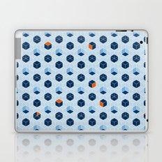 Blue Cubes Laptop & iPad Skin