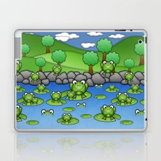 Froggies!  Laptop & iPad Skin