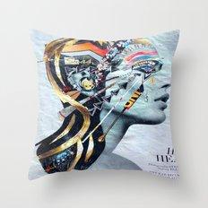 Modern Cleopatra Throw Pillow
