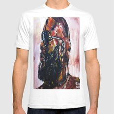 masterpiece for the #mastermind Mens Fitted Tee White SMALL