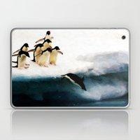 The Penguin Party - Pain… Laptop & iPad Skin