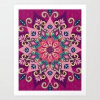 Mandala Bloom Art Print