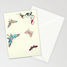 Butterflies for diamonds Stationery Cards
