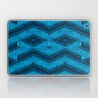 Blue Mask Laptop & iPad Skin