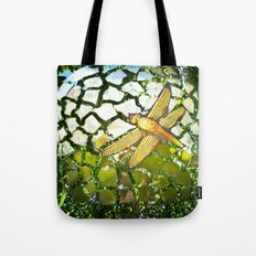 Fly High Dragonfly. Tote Bag
