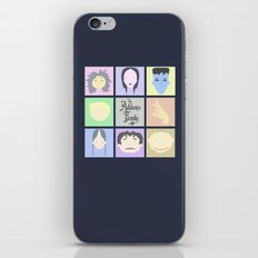 The Addams Family  iPhone & iPod Skin