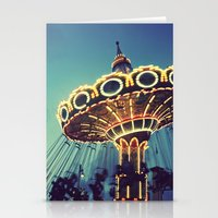 Blue Hour At The Carniva… Stationery Cards