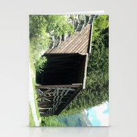 Snow Shed Stationery Cards