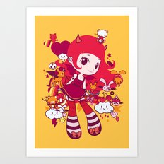 Kawaii Art Print