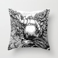 A Long Time Ago... Throw Pillow