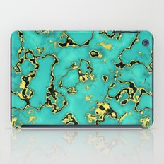 GOLD TURQUOISE iPad Case