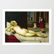 Frog of Urbino Art Print
