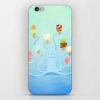 Ice Cream Power iPhone & iPod Skin