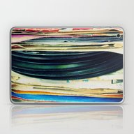 Laptop & iPad Skin featuring Put Your Records On by Bianca Green