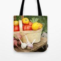 Veggie Basket Tote Bag