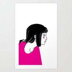 Girl 1 Art Print
