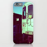 iPhone & iPod Case featuring Subway A train in Queens - NYC by 2b2dornot2b