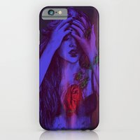 iPhone & iPod Case featuring THE HEART SCARAB by Nanda Correa