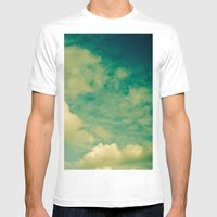 Cloud Study 1 Mens Fitted Tee White SMALL