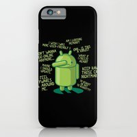 iPhone & iPod Case featuring PARANOID ANDROID by Letter_q