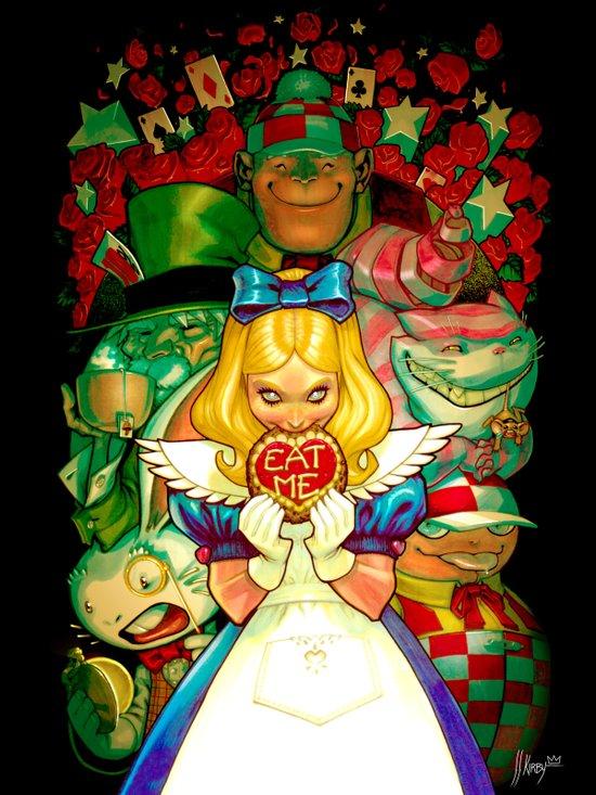 Hello Alice Art Print