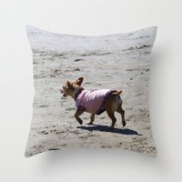 Puppy Luv Throw Pillow