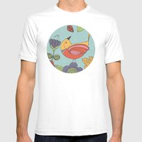 I like this place Mens Fitted Tee White SMALL