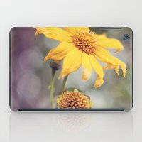 Yellow Florals iPad Case