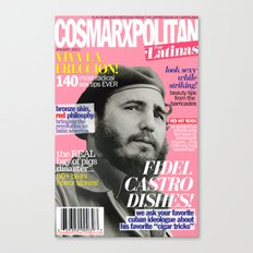COSMARXPOLITAN, Issue 7 Canvas Print