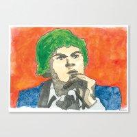 Cabbage Head Canvas Print