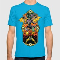 Epic Super Metroid Mens Fitted Tee Teal SMALL