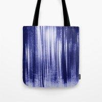 Indigo Woods Tote Bag